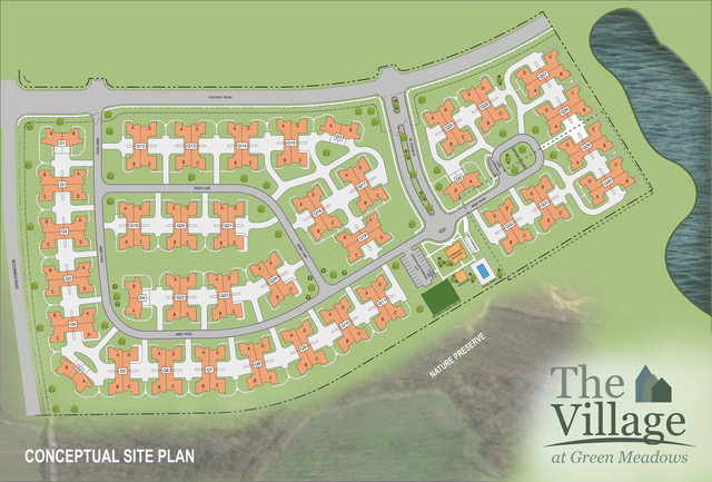 The Village at Green Meadows Conceptual Site Plan